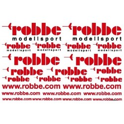 Robbe Foglio Decalcomanie Logo Robbe (art. 6157)