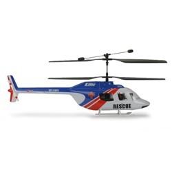 E-flite Fusoliera Jet Ranger, Blu/Rosso: BCX,BCX2 (art. EFLH1263)