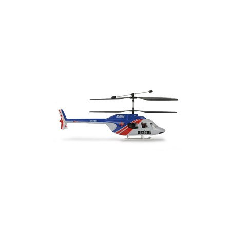 E-flite Fusoliera Jet Ranger, Blu/Rosso: BCX,BCX2 (art EFLH1263)