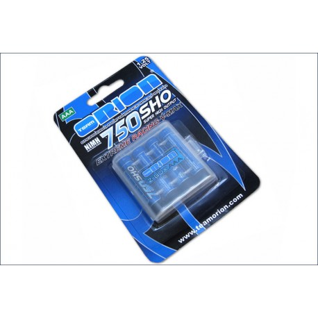 Orion Batterie Ministilo AAA 750mAh Extreme Racing 4pz (art. ORI13206)
