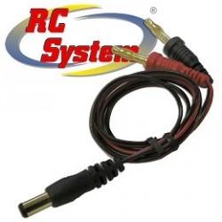 Rc System Cavo per ricarica Trasmittente attacco JR (RCM0036)