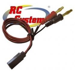Rc System Cavo di ricarica RX spina Hitec, Jr, Futaba (RCM0E0101