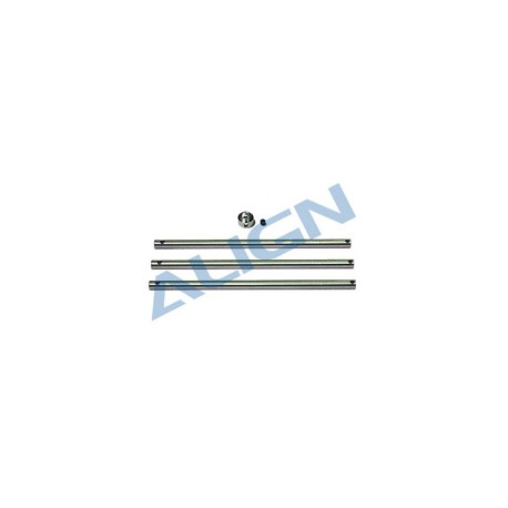 Align New Albero principale per T-rex 450 3 pezzi (art. HS1280)