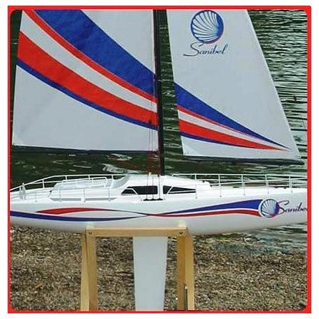 Pro boat barca a vela sanibel 36 600 rtr sailboat art for Accessori barca vela