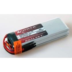 Dualsky Batteria Lipo 7,4V 3700MAH 22C (art. XP37002GT)