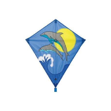 Aquilone Eddy Dolphin Sunrise cavi inclusi (art. HQ100101)