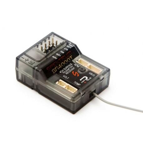 Spektrum Ricevente SR4000T 4 Canali DSMR Slim con Telemetria (art. SPMSR4000T)