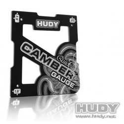 Hudy Attrezzo controllo Camber per 1/8 Off-Road 1° / 2° / 3° (art. 107751)