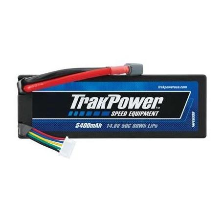 TrakPower Batteria Li-Po 4S 14,8V 5400mAh 50C Hard Case Star (art. TKPC0380)
