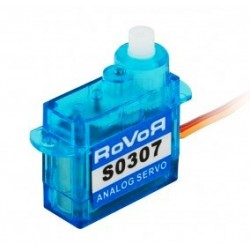 Aviotiger Micro servocomando analogico Rovor S0307 3.7gr (art. S0307)