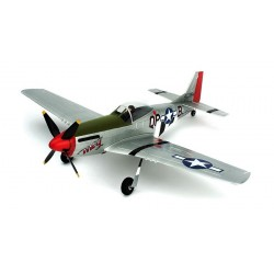 Parkzone Aeromodello Ultra Micro P-51D Mustang BNF AS3X (art. PKZU2480)