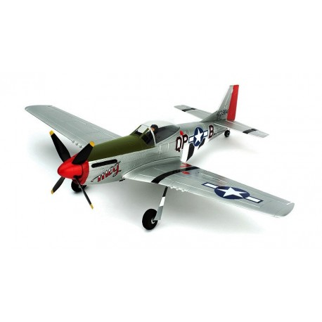 Parkzone Aeromodello Ultra Micro P-51D Mustang BNF AS3X PKZU2480