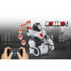Jamara Robot Robibot Bluetooth bianco-rosso (art. 410020)