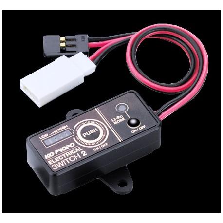KO Propo Nuovo interruttore elettronico 2S Li-Po 14A (KO60228)