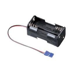 Sanwa Porta batterie ricevente 4 Stilo spina JR (art. SW-901A00808A)
