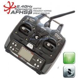 Hitec Radiocomando Optic 6 Sport con Optima 6 Mode 1 (art. 159249)