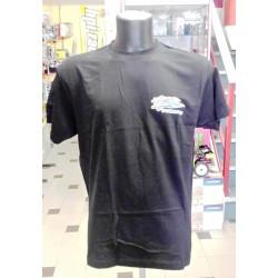 Tamiya T-Shirt Nera con logo Tamiya taglia Large