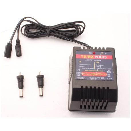 Fusion Carica batteria NX83E per TX e RX da 220V AC (art. FO-FS-NX83E)