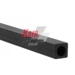 Kair Rc Quadrato carbonio 6x6x1000mm int. tondo 4mm (art. JP5518560)