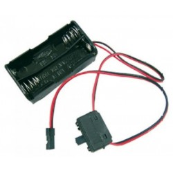 Jamara Porta batterie ricevente con interruttore JR (art. 090016)