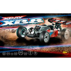 Xray Automodello XB8 2017 Specs Nitro Off-Road (art. 350012)