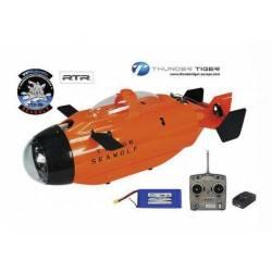 Thunder Tiger Sottomarino radiocomandato Seawolf Sport 40 MHz RTR (art. T5222-F03S)