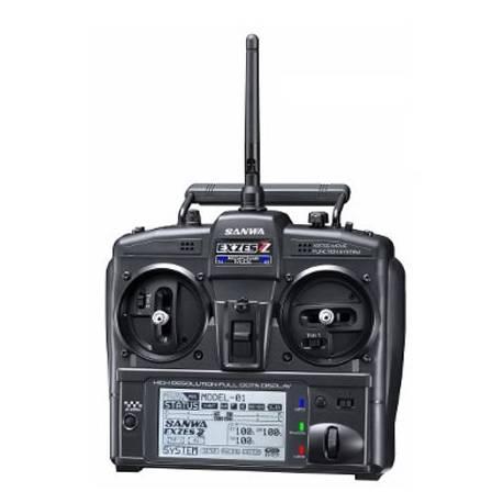 Sanwa Radiocomando Car EXZES ZZ 2,4G FSSH-4T 4Ch (art. SR-101A32071A)