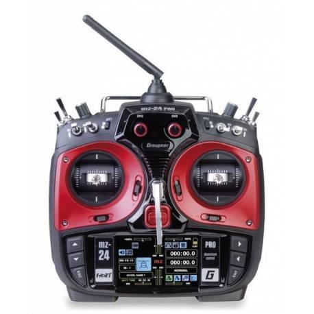 Graupner Radiocomando MZ-24 HoTT Pro 12 canali (art. S1006.PRO)