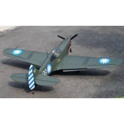 VQ Model Aeromodello Curtiss P-40 Warhawk ARF 60 EP-GP (art. C8391)