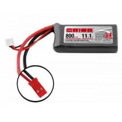 Orion Batteria Lipo LED 11,1V 800mAh 50C BEC JST (art. ORI60131)