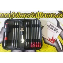 Dynamite Set attrezzi completi misure in Pollici US (art. DYN2835)