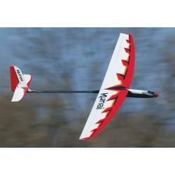 Great Planes Motoveleggiatore Kunai 1400mm EP Sport Glider ARF BL (art. GPMA1815)