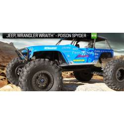 Axial Wraith Jeep Wrangler Poison Spyder RTR 4WD Electric Rock Crawler (art. AX90031)
