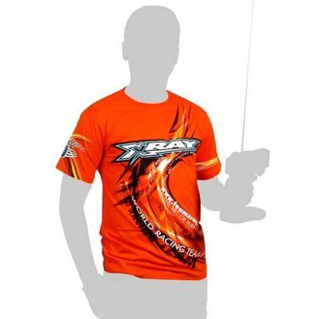 Xray Team T-Shirt Orange Taglia Media (art. 395017M)