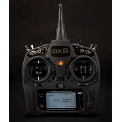 Spektrum Trasmittente DX9 DSMX Black Edition 9 ch Batteria e carica (art. SPMR9910EU)