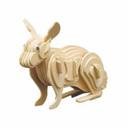 Siva Coniglio in legno da costruire (art. 858/3)
