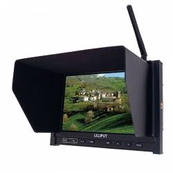 "Lilliput Wireless AV Monitor a colori FPV 7"" 5.8 GHZ RX (art. LLP_339W)"