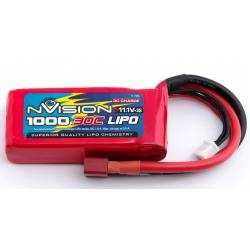 Batteria nVision Li-po 11,1V 1000mAh 30C 3S (art. NVO1807)