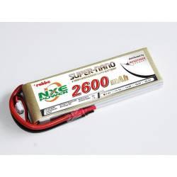 Aviotiger Batteria Li-po 7,4V 2600mAh 30C 2S (art. 6615NXE)