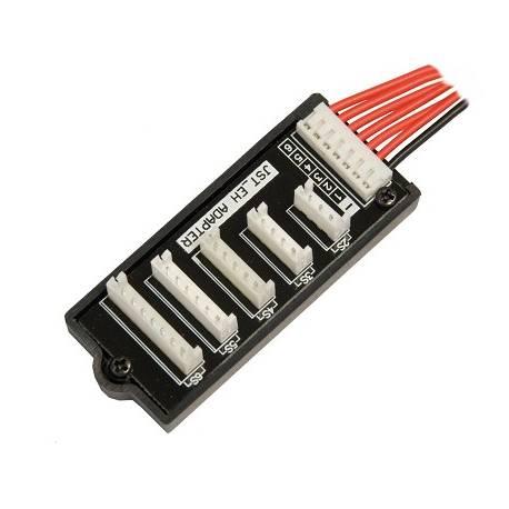 Kair RC Piastra bilanciatore per Li-Po connettore PCB EH (Graupner / Robbe) per 2S-6S (art. KRCA1002)
