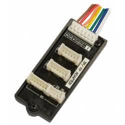 Kair RC Piastra bilanciatore per Li-Po connettore PCB (MPX / TP / FP) per 2S-6S (art. KRCA1003)