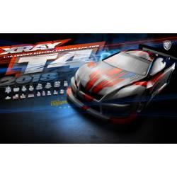 Xray Automodello Luxury electric Touring car T4 versione 2018 scala 1/10 kit (art. 300024)