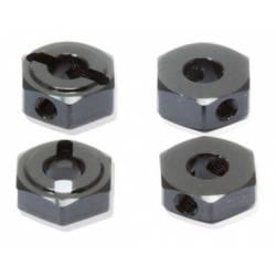 Robitronic Trascinatori in alluminio 12mm x 4,2mm foro 5mm (art. PR68000040)