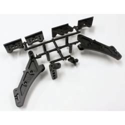 Kyosho Supporto alettone alta trazione per MP9 TKI4 (art. IFW460B)