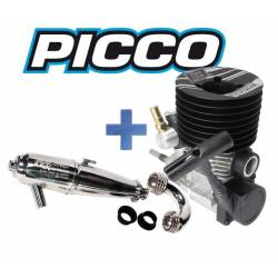 Picco Motore Boost .21 E1 Buggy Dual Start + Marmitta Racing Experience 2034 (art. PIC9520-2034)