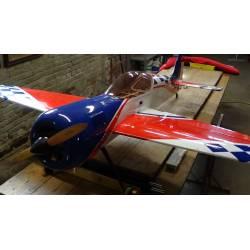 Pilot Maxi Aeromodello acrobatico Sukhoi 26 da 2300mm pronto al volo con motore DLE 55 bicilindrico