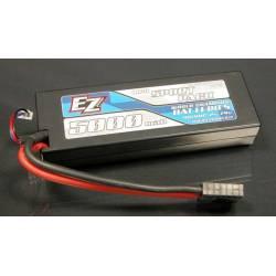 EZ Power Batteria Li-po Hardcase 7,4V 5000mAh 40C connettore Traxxas (art. EZP5000/2TXX)