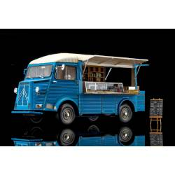 Ebbro Citroen H Van Mobile Kitchen scala 1/24 kit di montaggio (art. EB25008)