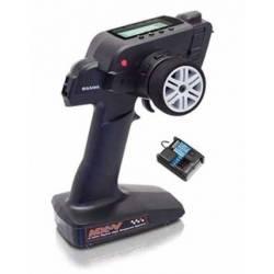Sanwa Radiocomando Car MX-V FHSS-2 2,4GHz 3CH (art. S.101A30885A)