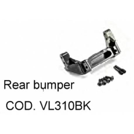 Bumper posteriore in Alluminio per TRX-4 (art. VL310BK)